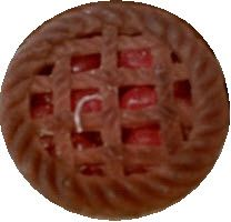 5 Inch Cherry Pie Candle