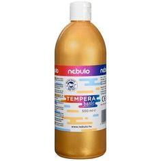 Akciós ! Ft Ár Nebuló tempera nagy kiszerelésben 500 ml - Arany Ft Ár 1,190 Tempera, Wine, Drinks, Bottle, Products, Drinking, Beverages, Flask, Drink