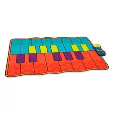 Play with a pal or dance solo, choose from 4 musical modes and 5 sound effects, then tap your feet and wiggle it out! Boogie Woogie Mat - Musical Pad - B.