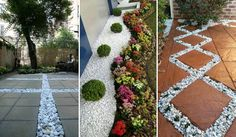 29 Cool White Gravel Decorative Ideas