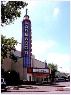 Lakewood Theatre in Dallas.  Love this place inside and out.