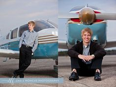 Kevin's Travel Themed Senior Portraits || Brunswick Senior Portrait Photographer | Chris Moncus Photography