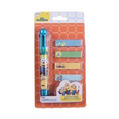 Pix 6 culori + memo stick Minions MO3916 Minions, Stickers, Disney, Books, Character, Libros, The Minions, Book, Minions Love