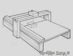 Riverlea Soap: Making a wooden Soap Cutter