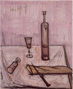Still life by French artist Bernard Buffet
