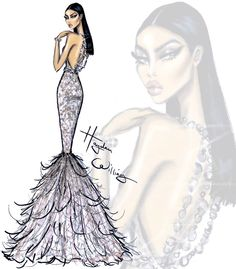 Red Carpet Glam: 'Champagne Dreams' by Hayden Williams