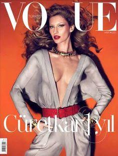 Hair for Helen Yarmak - Tendencia Ambigua: Gisele Bundchen By Mert and Marcus Vogue Turkey