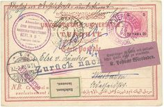 "Austrian Levant 1898 20p canc. JERUSALEM on color postcard to GERMANY. ""RETOUR"" + redirected LABELS. Vf  Lot condition   Dealer Lugdunum  Auction Starting Price: 80.00 EUR"
