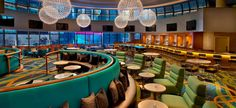 The Broadway Lounge in the Marriott Marquis overlooks Times Square.