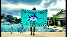 Southern Tide Beach Towel