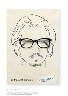 Für Brillen mit Charakter