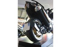 Support de Plaque Bas Lèche Roue pour T-MAX 530