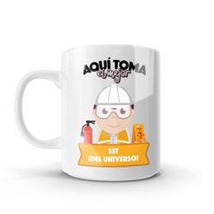 Mug - Aquí toma el mejor sst del universo, encuentra este producto en nuestra tienda online y personalízalo con un nombre o mensaje. Chocolate Caliente, Mugs, Tableware, Coffee Cup, Messages, Creativity, Store, Universe, Dinnerware