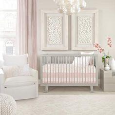 Capri Crib Set – Blush