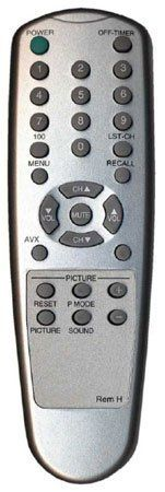 Replacement Remote Control For Hitachi Televisions No Programming Needed Sleek Silver Finish by MCM. $20.88. Requires two AAA batteries. (not included)
