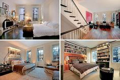 This is the interior of the NYC brownstone used as the facade for Holly Golightly's house in Breakfast at Tiffany's