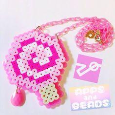 【ふぇいばりっとぴんくコラボ】8BITペロペロきゃんでぃ(ふぁぼぴんぴんく)   Apps and Beads