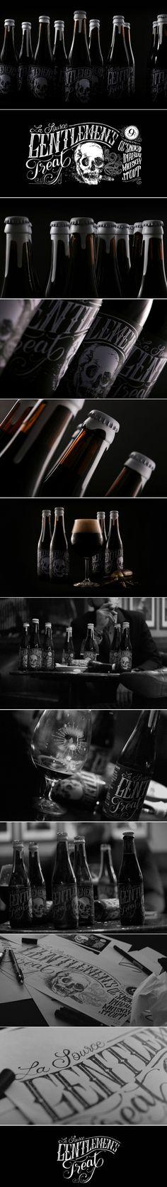 Gentlemen's Treat is a Spooky Stout — The Dieline | Packaging & Branding Design & Innovation News