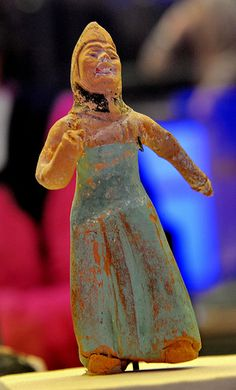 SECRETS OF SILK ROAD_PAINTED FIGURINE OF A DANCER