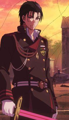 Feral, Feral Guren - Owari No Seraph Anime Bebe, All Anime, Manga Anime, Anime Art, Anime Films, Anime Characters, Pandora Hearts Oz, Animes Yandere, Animated Icons