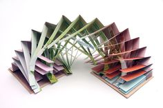 Academy of Art University — Book art by Akayo Sakanishi (School of Fine Art) Origami Paper Art, Paper Crafts, Altered Books, Altered Art, Pop Up, Book Art, Book Sculpture, Book Folding, Handmade Books