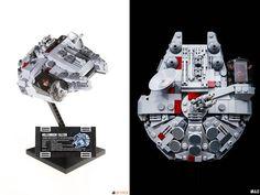 S'extasier devant des créations LEGO, c'est bien, pouvoir les reproduire, c'est mieux... - Hoth Bricks