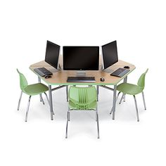 Today, no manufacturer offers more choices in school computer lab furniture than Smith System. As pioneers in computer furniture, we offer more choices. School Computers, School Desks, Butcher Block Table Tops, Smith System, Daycare Design, Classroom Desk, Laminate Colours, Library Furniture, Computer Lab