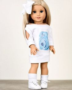 Grace ❤️ What do you think about this look ? Original American Girl Dolls, Ropa American Girl, American Girl Doll Room, Custom American Girl Dolls, American Girl Doll Pictures, American Doll Clothes, Ag Doll Clothes, Poupées Our Generation, American Girl Hairstyles