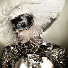 "Lady GaGa. Artwork from ""The Fame Monster"" Album."