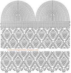 diagrama crochet de corpiño Más