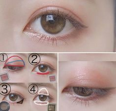 Love the natural brown-ish eyeliner! :)- Love the natural brown-ish eyeliner! 🙂 Love the natural brown-ish eyeliner! Korean Makeup Look, Korean Makeup Tips, Korean Makeup Tutorials, Asian Makeup, Korean Makeup Ulzzang, Ulzzang Makeup Tutorial, Makeup Trends, Cute Makeup, Beauty Makeup