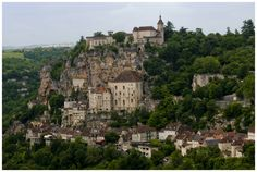 Pilgrimage site of Rocamadour.