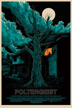 Beautiful, creepy, so good at capturing the feel of the evil tree, hehe.   Love this film, love this poster.