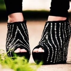 Sparkle wedges.