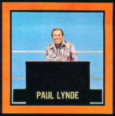 Paul Lynde Hollywood Squares ~ he irritated the hell out of me, but I couldn't stop watching him.