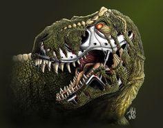 T-Rex: Terminatorus Rex - http://www.dravenstales.ch/t-rex-terminatorus-rex/