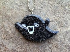 Black Kawaii Ghost Resin Jewelry Resin Charm by LullaBelleCreation