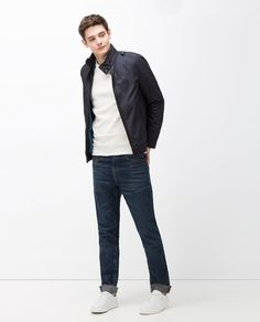 ZARA - SALE - JACKET WITH PIPING