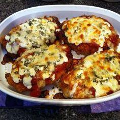 Chicken Parmesan Allrecipes.com