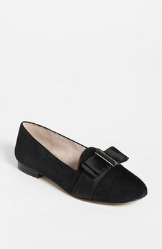 #black #bow #Vince #Camuto 'Ecie' #Flat available at #Nordstrom