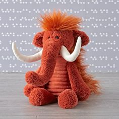 Shop Jellycat Woolly Mammoth Stuffed Animal.  Don't let the tusks fool you, because our Corduroy Wooly Mammoth Stuffed Animal doesn't have a mean bone in its body.  In fact, thanks to its plush construction, it's just a big softie.