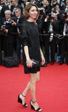 Sophia Coppola in Valentino and Celine wedges // Cannes Film Festival 2014