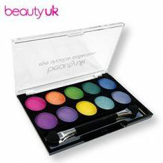 Beauty UK 2 Soho Eye Shadow Palette luomiväri, paletti - Luomivärit ja -paletit - Silmät