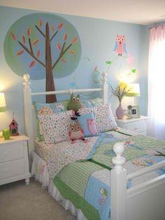 Love the idea of an owl themed nursery for boy or girl