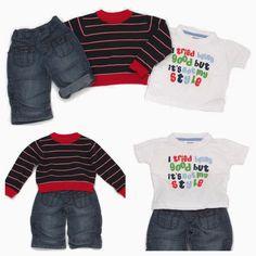 Übergangskleidung ist toll, denn man kann sie prima kombinieren! ;)  Unsere #KombiDerWoche von #Next & #earlydays in Gr. 74-80