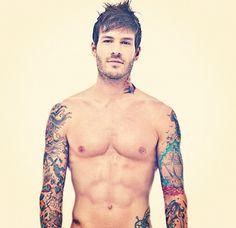 #inked #ink #tattoos #tattoo #inkedguy #malemodel #inkedmag