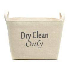 Dry Clean Only Storage Basket & Reviews | Joss & Main