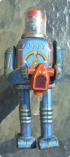 ✝☮✿★ ROBOT ✝☯★☮  1950s Cragstan Battery Operated Robot Japan | eBay