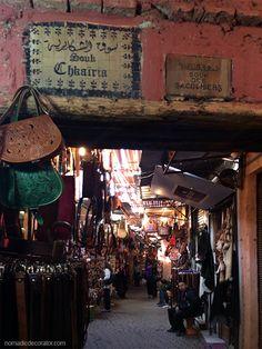 Marrakech Souk Shopping