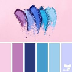Ideas For Vintage Wedding Colors Palette Design Seeds Color Schemes Colour Palettes, Colour Pallette, Color Combos, Beach Color Schemes, Purple Color Schemes, Create Color Palette, Gold Color Scheme, Blue Palette, Palette Design
